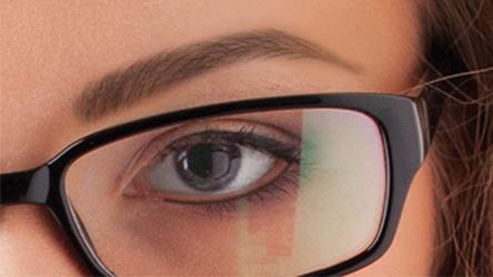 natürliches Permanent Make-Up für Brillenträger